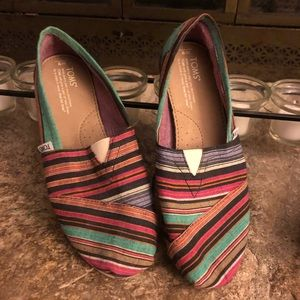 Toms colorful and comfy shoes
